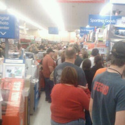 Dedicated Black Friday shoppers sacrifice hours of time waiting for a great doorbuster bargain on the perfect gift!