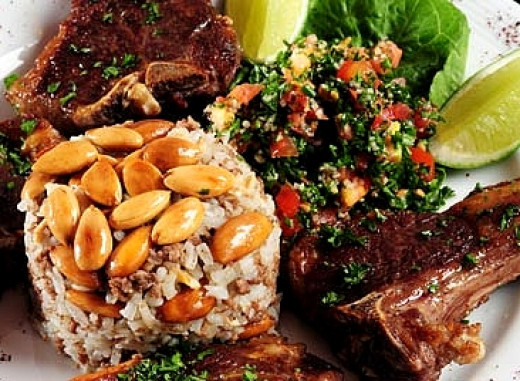 Many Lebanese dishes are healthy but contain oil, sugar and nuts which boosts the calorie count. Discover the calories in various Lebanese food dishes