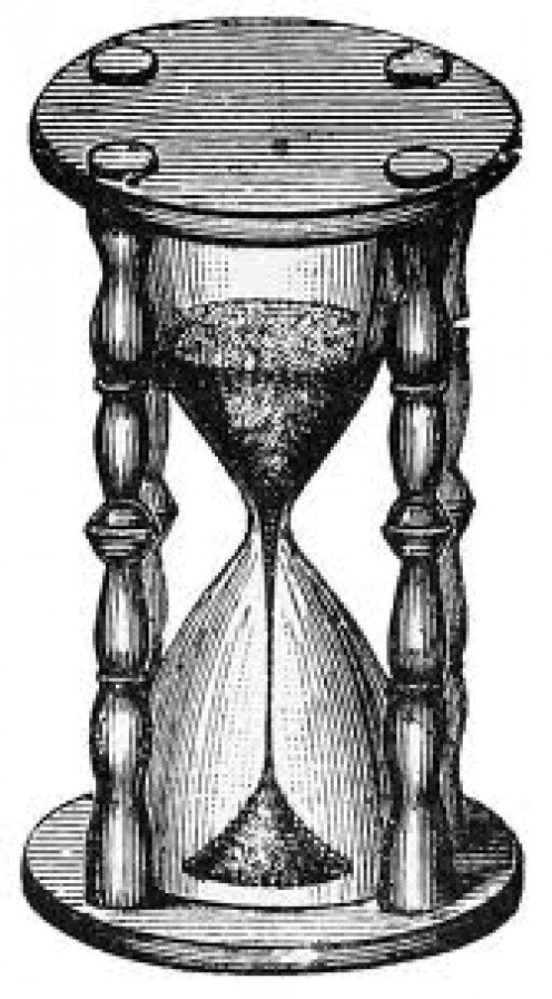 The Hour Glass of Time