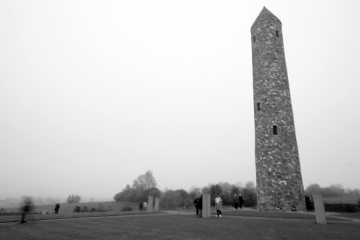 Island of Ireland Peace Park, Mesen (Belgium)