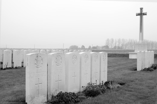 Caesar's Nose Welsh Cemetery, Boezinge (Belgium)