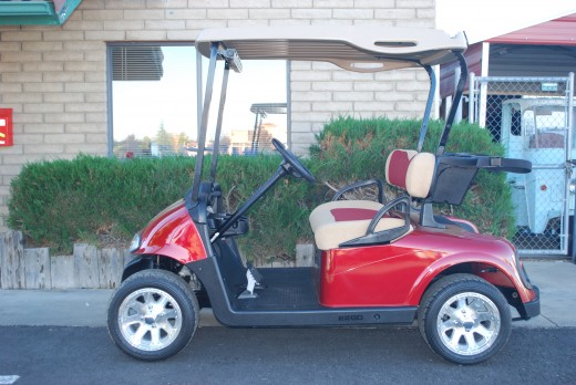 Can you guess if this golf cart is New or Used?