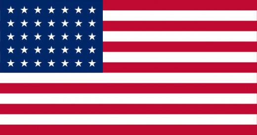 US Flag 35 Stars