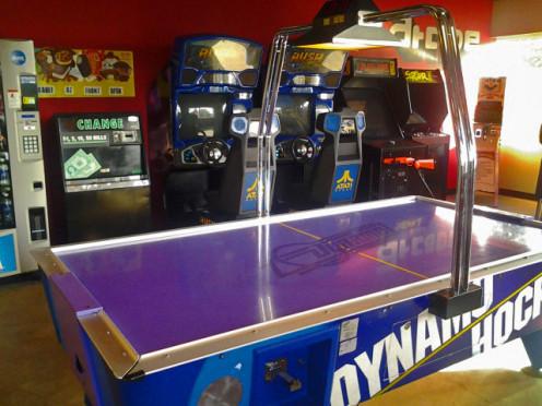 Air Hockey and Arcade Games at Absolute Air Park