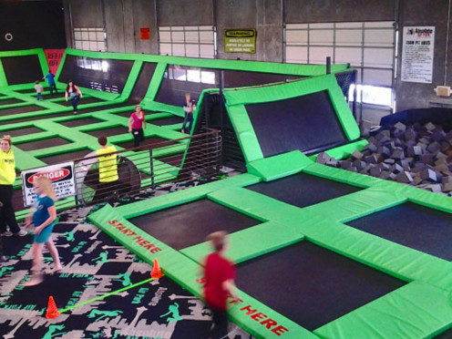 Indoor Trampolines at Absolute Air Park