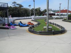 Corolla Raceway Bumper Car track.