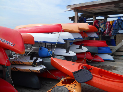 Rent a kayak or take a guided kayak tour.
