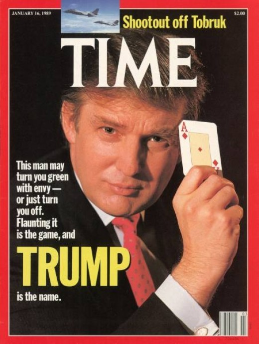 Donald Trump Bankruptcy Publicity