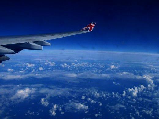 Taken traveling via Virgin Atlantic Airways on the Queen of the Skies!
