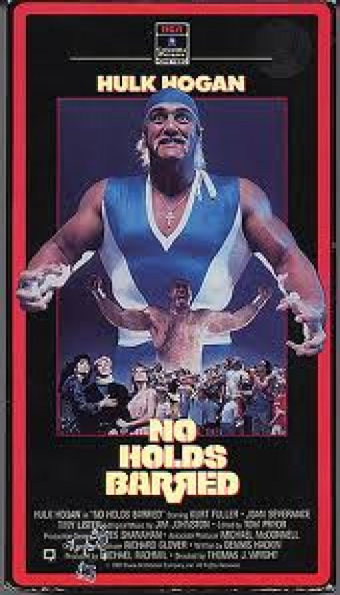 No Holds Barred was a movie that had Hulk Hogan being well... Hulk. Zeus was his rival in this feature length film.