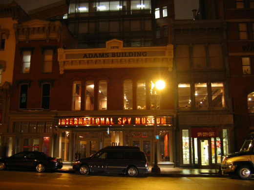 The International Spy Museum was photographed on the evening of January 11, 2006 by Kmf164.