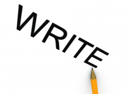 An image of a pencil that are writing the word write. © Chrisharvey | Stock Free Images & Dreamstime Stock Photos