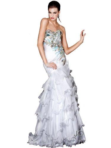 Jovani Peacock Dress