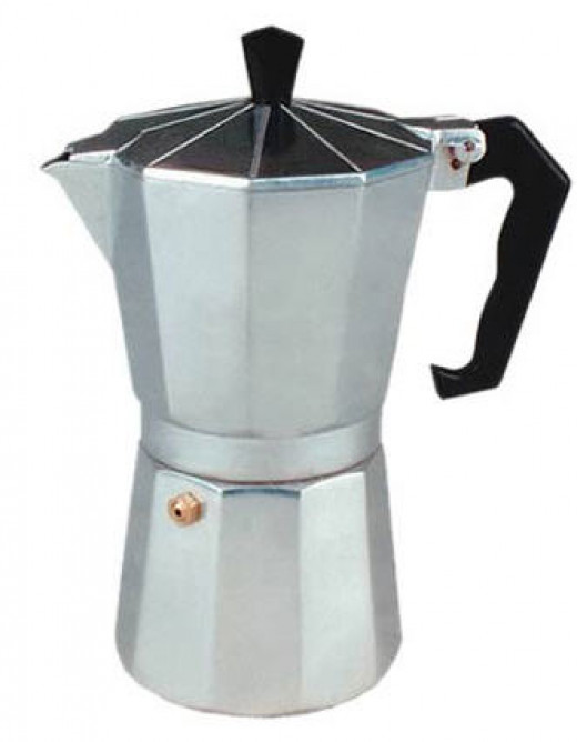 Stovetop espresso method $20