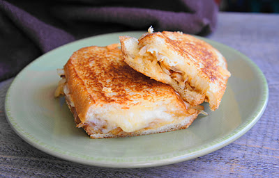 Classic french onion grilled cheese