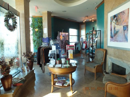 We even have cool clothes, headbands, footwear, video's, skincare line and candles! Did you notice the fireplace and the waterwall? Does your gym or studio have that??