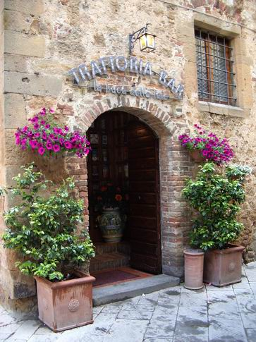 Trattoria Bar La Buca delle Fate comes well recommended by Trip Advisor.