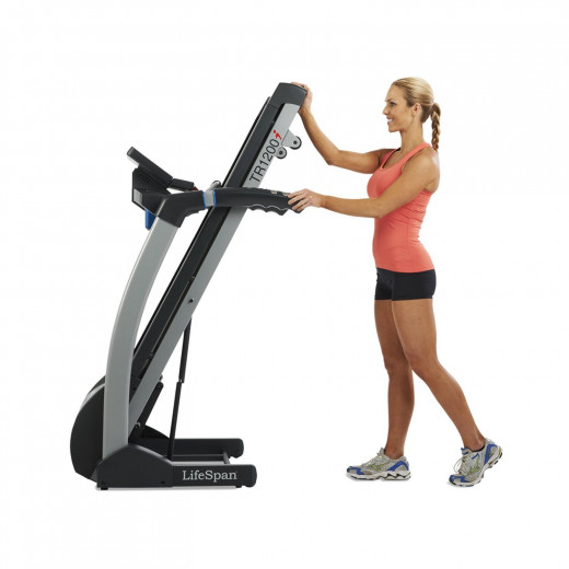 The LifeSpan TR 1200i Folding Treadmill