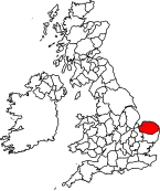 Map location of Norfolk