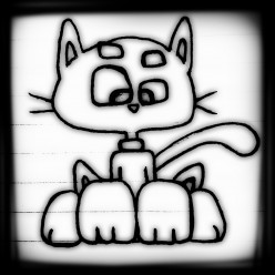 How To Draw A Cute Cartoon Cat: Easy Step By Step For Kids