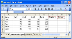 Using Simple If Function in Microsoft Office Excel