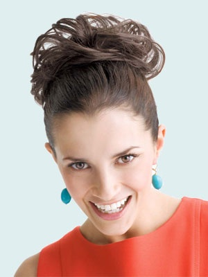 Fun and attractive wedding hair piece