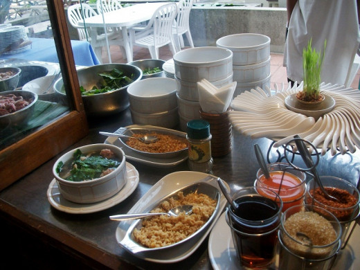 Thai Traditional Breakfast Soup