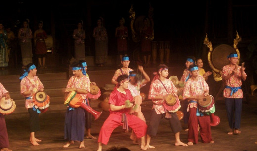 Thai Drum Dance