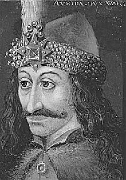 Vlad Tepes, aka Vlad the Impaler, aka Vlad Dracula, Prince of Wallachia and the inspiration behind Bram Stoker's epic character.