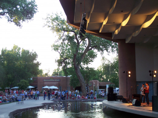 "This image is from when Kathy Mattea came to ""Zoo Music."" Check out that awesome venue!"