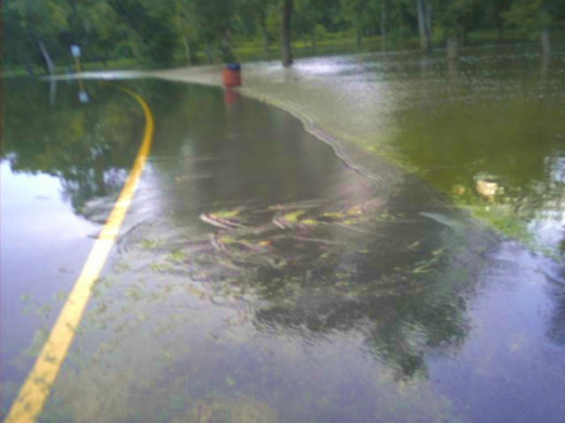No matter what type of flooding occurs, conditions will be dangerous and safety is the foremost concern.