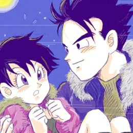 Videl with Gohan