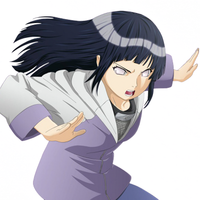 Hinata fighting pose