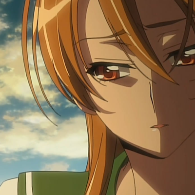 Rei about to cry