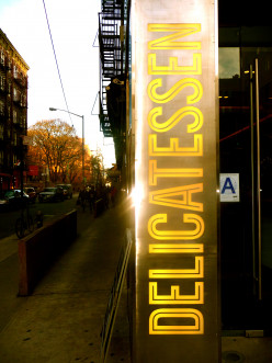New York City Day Trip Restaurant Review:  DELICATESSEN, an Eclectic Eatery!