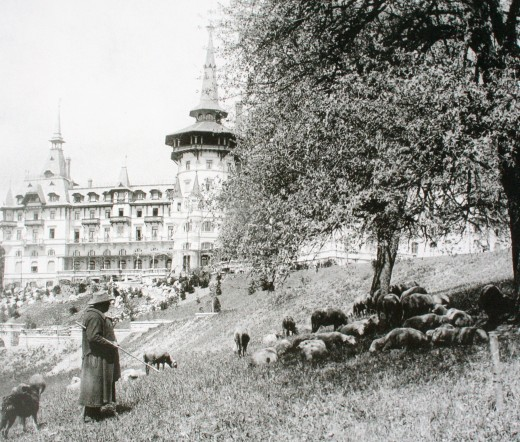 The early years of the Dolder Hotel in the begining of the 1900s