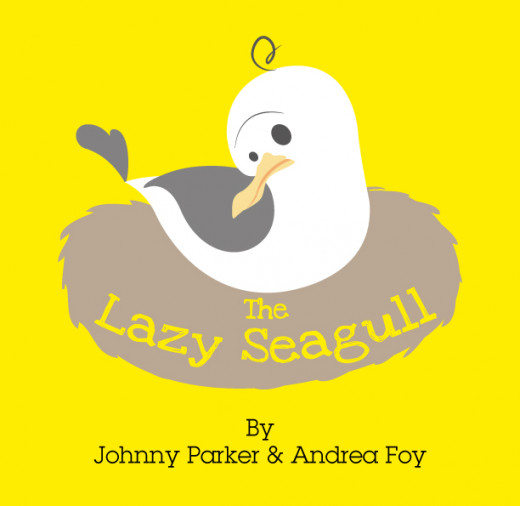 The Lazy Seagull - rhyming children's picture book