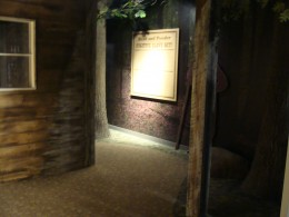 The Underground Railroad display was a wealth of information.
