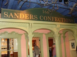 Sanders is a Michigan based company that sells wonderful sweet treats still today!