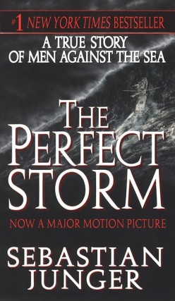 a literary analysis of heroism in the perfect storm by sebastian junger Going to war is extraordinarily fortunate to have sebastian junger and karl marlantes as the central figures in the program both are among america's preeminent literary voices on the subject of.