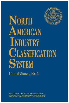 The North American Industry Classification System (NAICS) is used to categorize like businesses.
