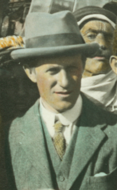 The Real T.E. Lawrence in British Clothes