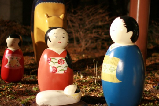 Japanese nativity