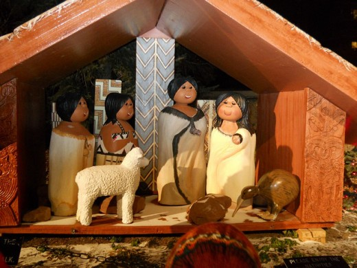 Maori (New Zealand) nativity