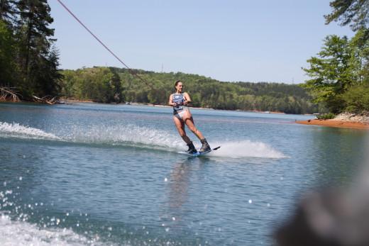 Fun on Lake Keowee