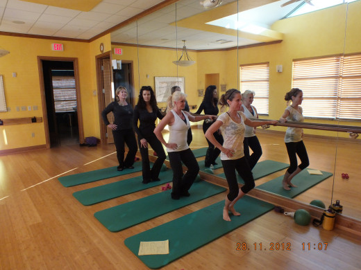 Working all the muscle groups you will need! If you are in the Dayton/Cincinnati area, go to www.mypilatesstudiodayton.com