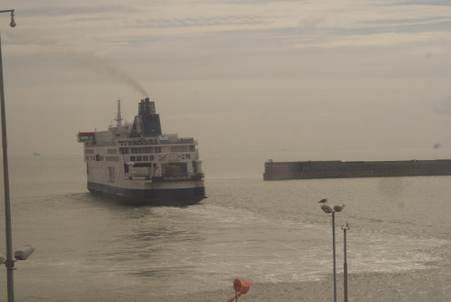 Just about to leave Dover