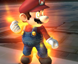 Unfortunately, Mario had to wait until the next installment to look this cool.
