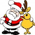 Funny Santa Clip Art