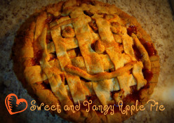 Sweet and Tangy Apple Pie- A kids help recipe.